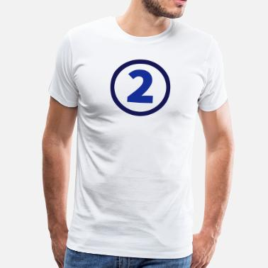 The Number Two number two - Men's Premium T-Shirt