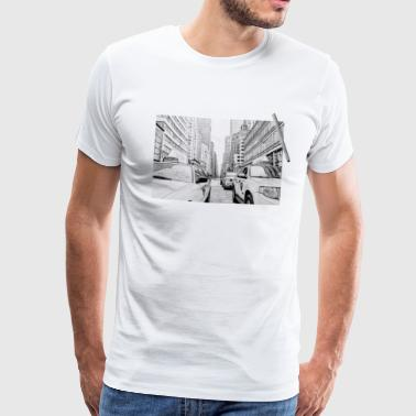 New York City drawing - Men's Premium T-Shirt