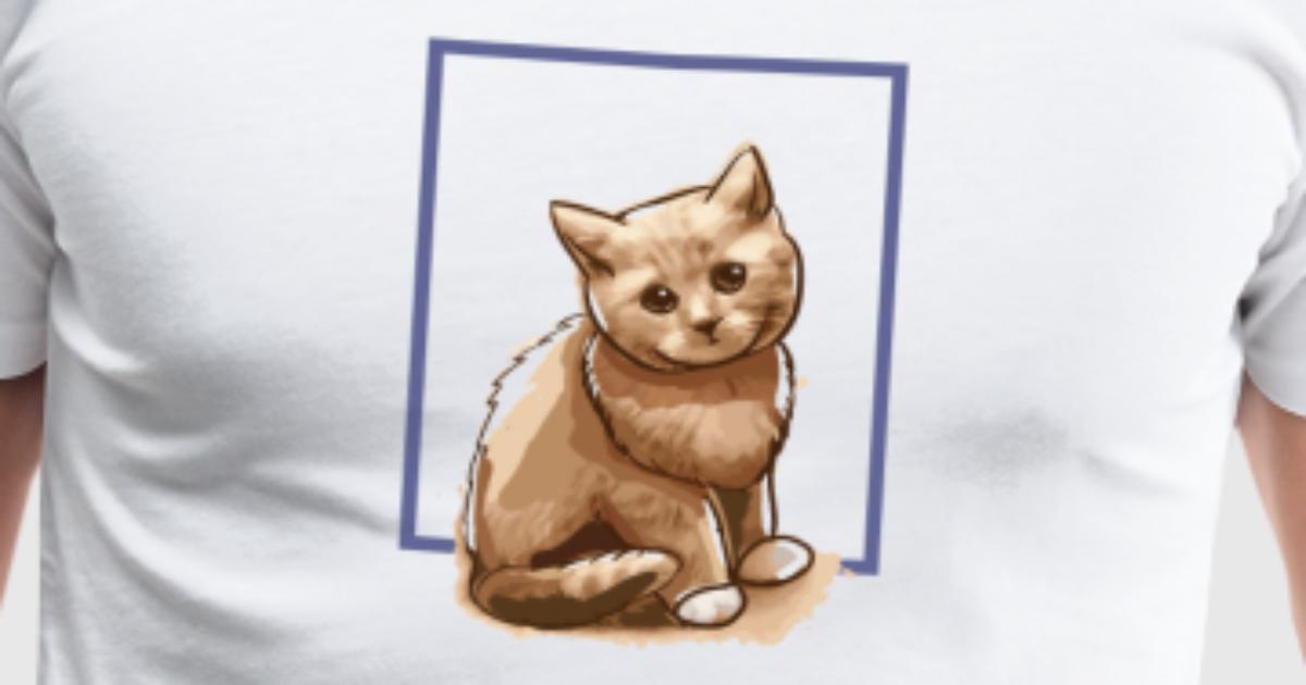 Katzen Rahmen von MopTee | Spreadshirt