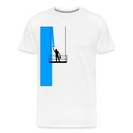Maler Fassade Streichen Farbe Blau Lift Geschenk Von Weentee | Spreadshirt
