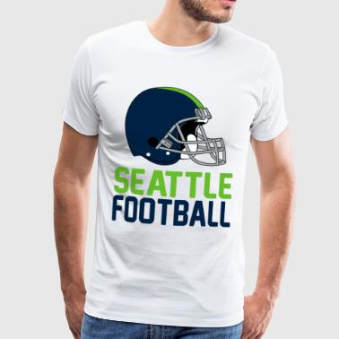 Helmet Seattle - Men's Premium T-Shirt