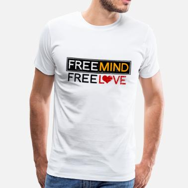 Free Free Spirit Free Love - Men's Premium T-Shirt