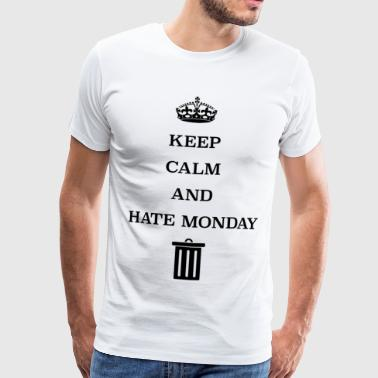 Monday is the worst day - Men's Premium T-Shirt