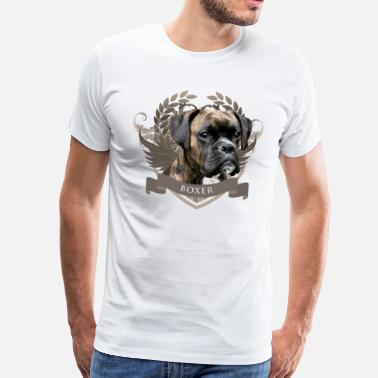 Boxer dog - Men's Premium T-Shirt