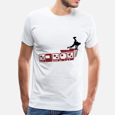 B Boying b-boy - Men's Premium T-Shirt