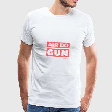 AIR DO GUN - hedef 2023 Style - Männer Premium T-Shirt