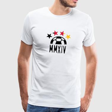MMXIV 2014 (1c) - Men's Premium T-Shirt