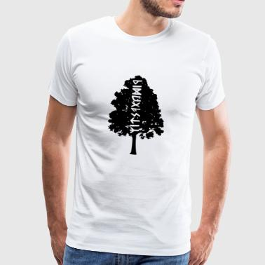 the guest from the forest - Men's Premium T-Shirt