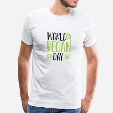 1994 World Vegan Day World Idea regalo vegano 1.11. - Maglietta Premium da uomo