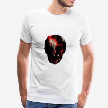 Face Painting face man head painting painting - Men's Premium T-Shirt