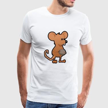 Mouse graphic mouse pet - Men's Premium T-Shirt