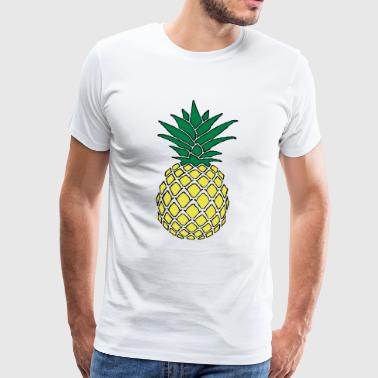 Funky Kids Funky pineapple - Men's Premium T-Shirt