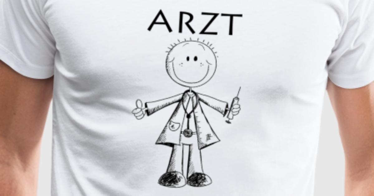Arzt Comic - Ärzte - Medizin - Mediziner -Geschenk von Shirtando ...