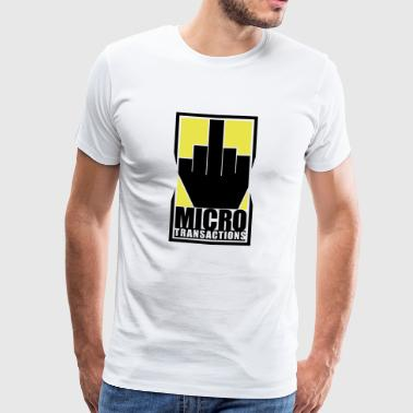 Micro Transactions - Men's Premium T-Shirt