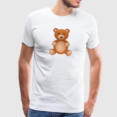 teddy bear teddy bear grizzly brown bear black bear - Men's Premium T-Shirt