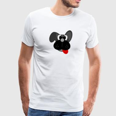 hond cartoon - Mannen Premium T-shirt