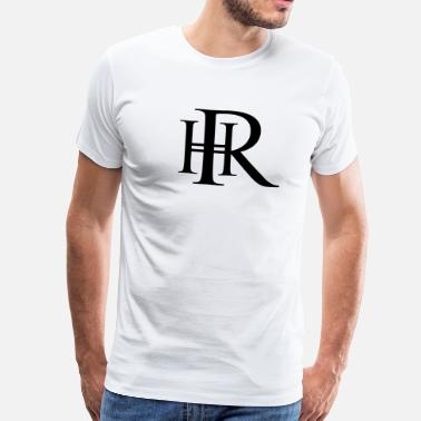Hr Your monogram HR - Men's Premium T-Shirt