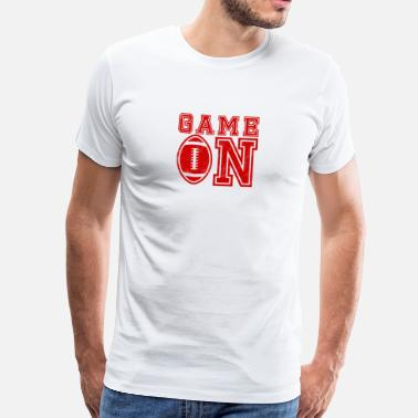 Super Super Bowl / Football: Game On - Männer Premium T-Shirt