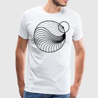 New World zwart - Mannen Premium T-shirt