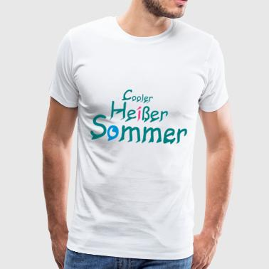 Cool Hot Summer 2018 - Herre premium T-shirt