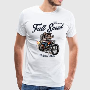 Full Speed Rat Race - Men's Premium T-Shirt