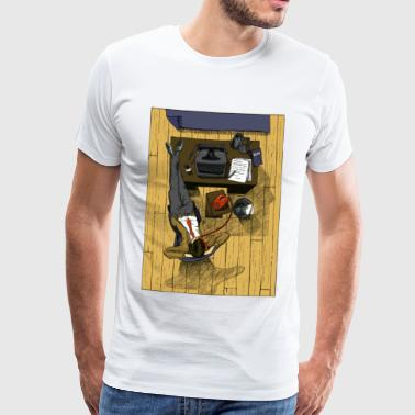 Office - Premium-T-shirt herr
