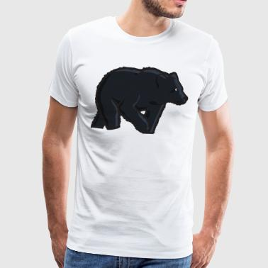 Grizzly - Premium T-skjorte for menn