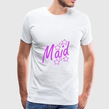 maid - Men's Premium T-Shirt