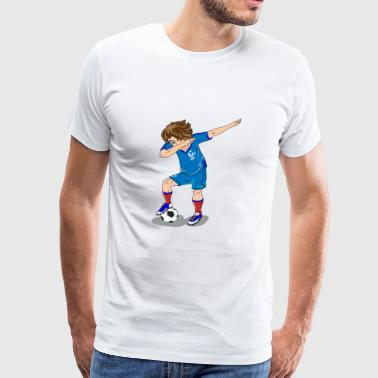 Joueur de Football de France Dab World Cup - T-shirt Premium Homme
