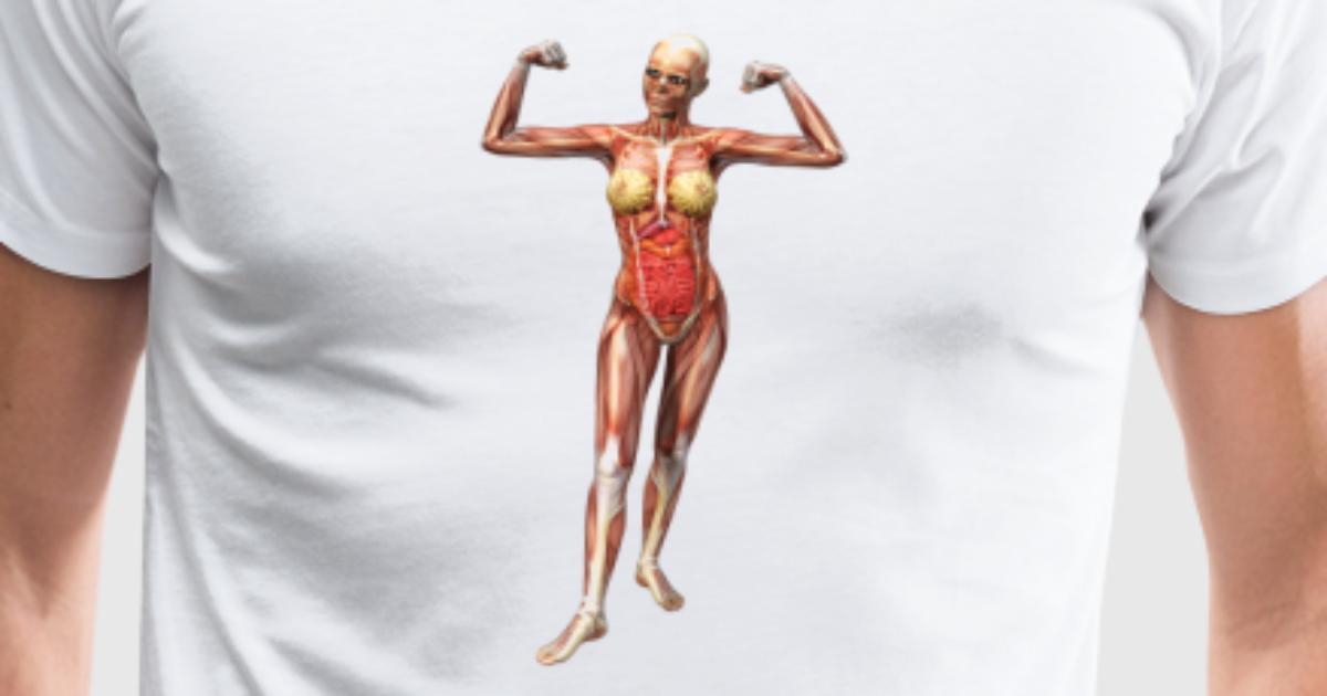 Mujeres anatomía por c.k.Olaf | Spreadshirt