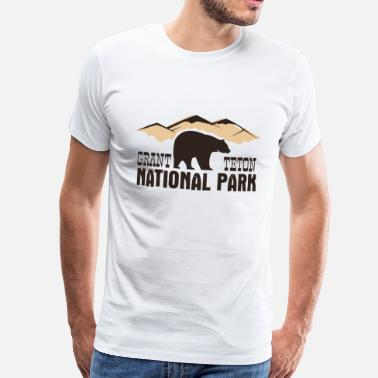 National Grand Teton National Park - Men's Premium T-Shirt