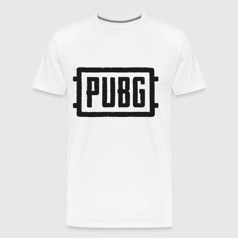 Pubg - Logo artwork - Men's Premium T-Shirt