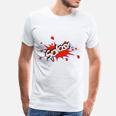Paint Splash splash - Men's Premium T-Shirt