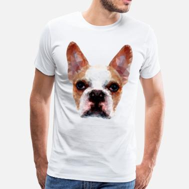 Diamond french bulldog - Men's Premium T-Shirt