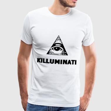 Killuminati Illuminati Truther konspiration - Premium-T-shirt herr