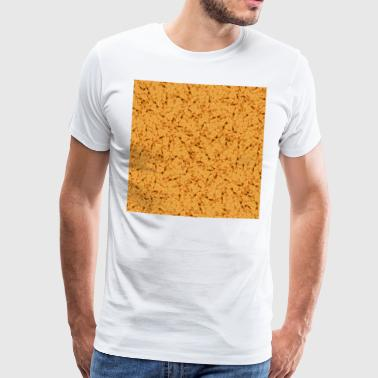 chicken nuggets - Premium-T-shirt herr