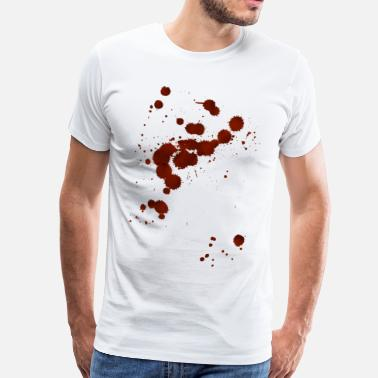 Blood Splatter Blood - Men's Premium T-Shirt