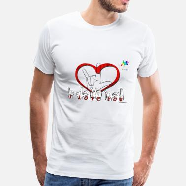Lsf I love you GTS - T-shirt Premium Homme