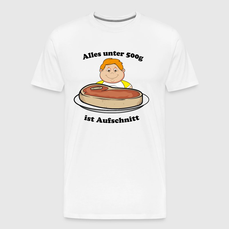 Steak - Männer Premium T-Shirt