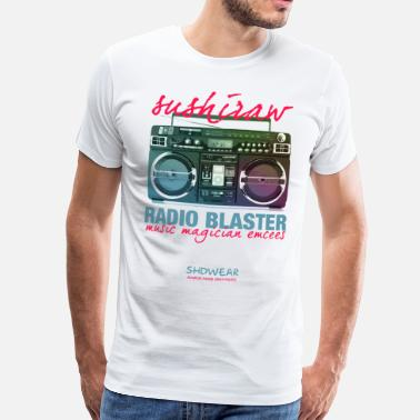 Ghetto Blaster Radio Blaster - Men's Premium T-Shirt