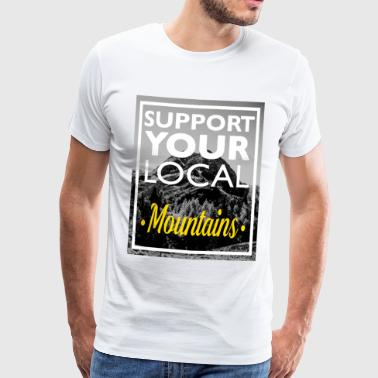 SYLM - Support Your Local Mountains - Männer Premium T-Shirt