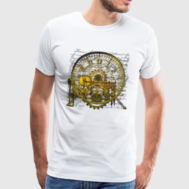 Steampunk Time Machine #2 Men's Premium T-Shirt - Men's Premium T-Shirt