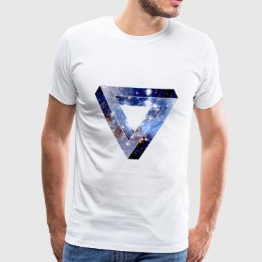 Penrose Triangle - T-shirt Premium Homme