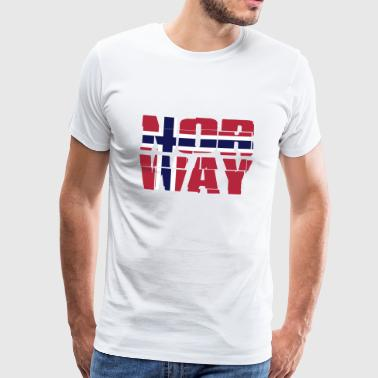 Norway Flag - Men's Premium T-Shirt