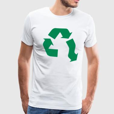 Recycling No Recycling - Premium T-skjorte for menn