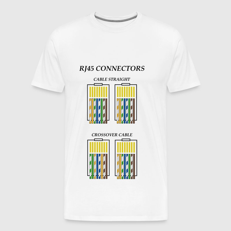 Connectors RJ45 c1 - Men's Premium T-Shirt