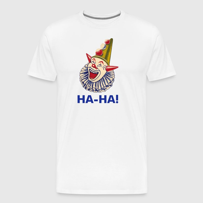 Laughing Clown - Men's Premium T-Shirt