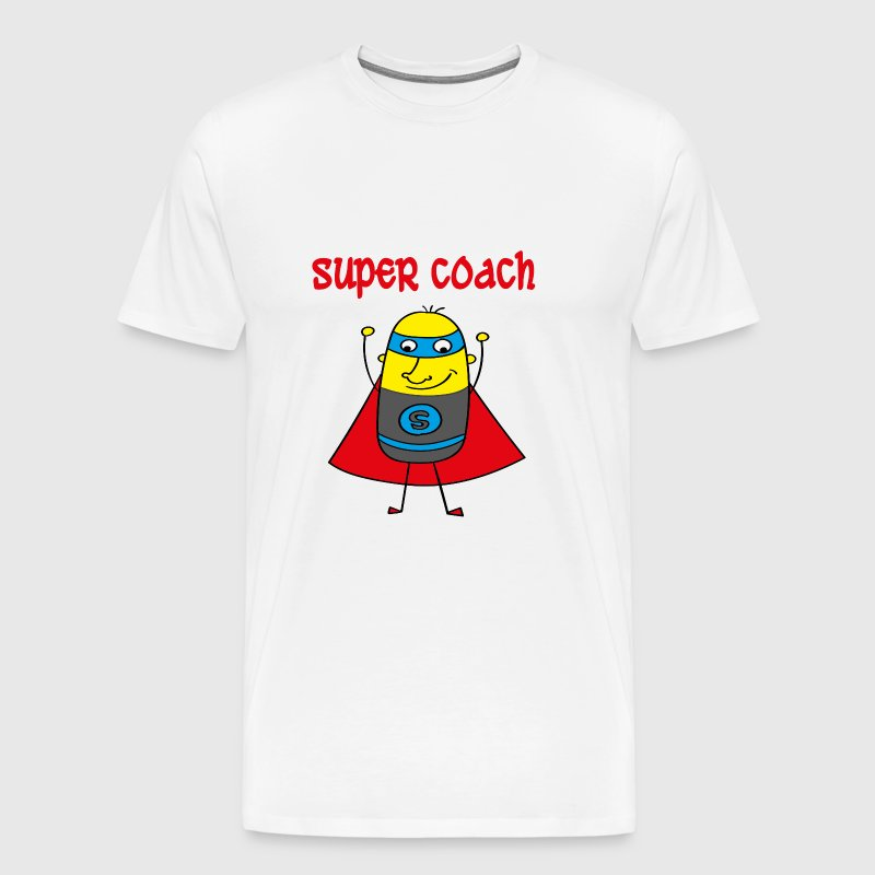 Super coach - Men's Premium T-Shirt