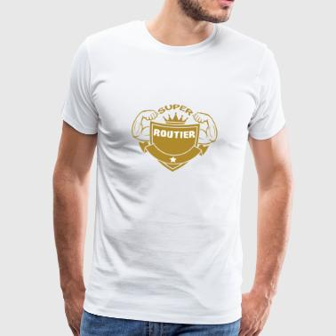 Super routier - T-shirt Premium Homme