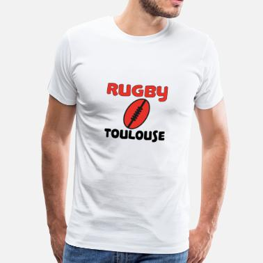 Rugby toulouse - Mannen Premium T-shirt